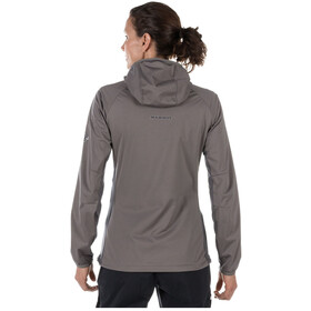 Mammut Keiko Light SO Hooded Jacket Damen titanium-dark titanium